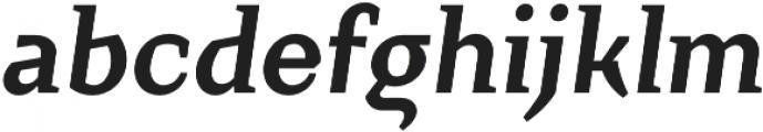 Crimsons otf (700) Font LOWERCASE