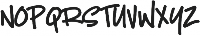 Crispin otf (400) Font LOWERCASE
