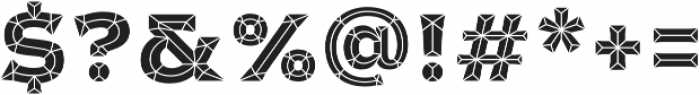 Cristal otf (400) Font OTHER CHARS