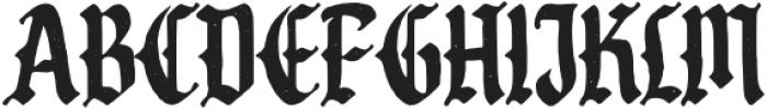 Cristone-Regular otf (400) Font UPPERCASE