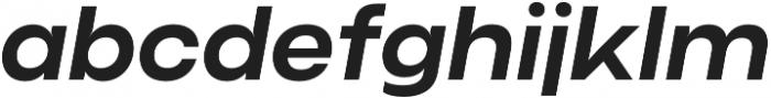Criteria CF Demi Bold Oblique otf (600) Font LOWERCASE