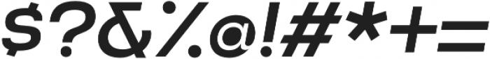 Criteria CF Medium Oblique otf (500) Font OTHER CHARS