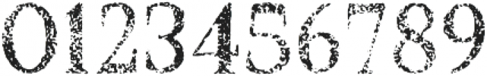 Croak Extra Withered otf (400) Font OTHER CHARS