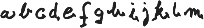 Croatica_bold Regular otf (700) Font LOWERCASE
