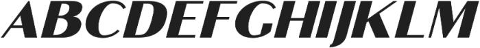 Croco otf (400) Font UPPERCASE