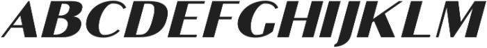 Croco otf (400) Font LOWERCASE