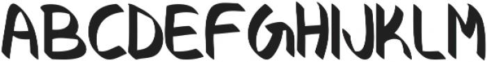 Crocus otf (400) Font UPPERCASE