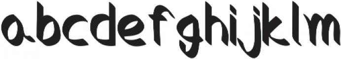 Crocus otf (400) Font LOWERCASE