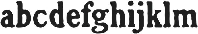 Croft otf (400) Font LOWERCASE