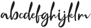 Crolinesy Daggaes Script Altern otf (400) Font LOWERCASE
