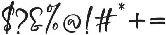 Crolinesy Daggaes Script otf (400) Font OTHER CHARS