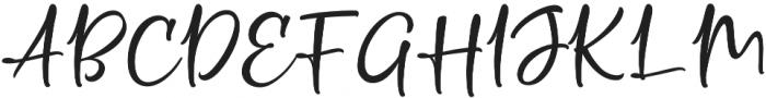 Crolinesy Daggaes Script otf (400) Font UPPERCASE