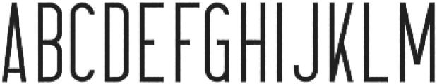 CrossRoad LongRough otf (400) Font UPPERCASE
