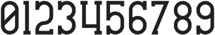 CrossRoad Slab otf (400) Font OTHER CHARS