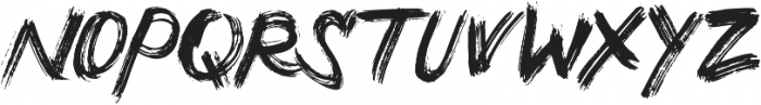 Crossover Regular otf (400) Font UPPERCASE