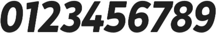 Crossten Bold Italic otf (700) Font OTHER CHARS