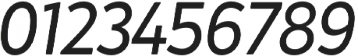 Crossten Book Italic otf (400) Font OTHER CHARS