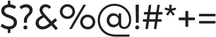 Crossten Book otf (400) Font OTHER CHARS