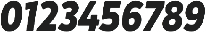 Crossten ExtraBold Italic otf (700) Font OTHER CHARS