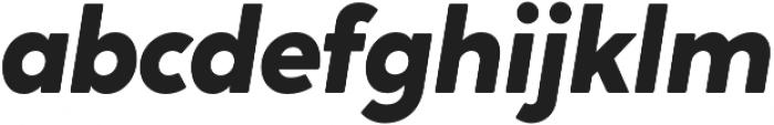 Crossten ExtraBold Italic otf (700) Font LOWERCASE