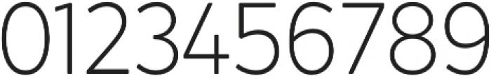 Crossten ExtraLight otf (200) Font OTHER CHARS