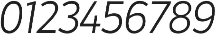 Crossten Light Italic otf (300) Font OTHER CHARS