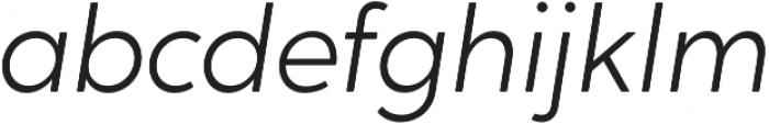 Crossten Light Italic otf (300) Font LOWERCASE