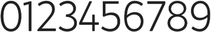 Crossten Light otf (300) Font OTHER CHARS