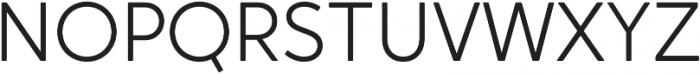 Crossten Light otf (300) Font UPPERCASE