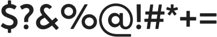 Crossten Medium otf (500) Font OTHER CHARS