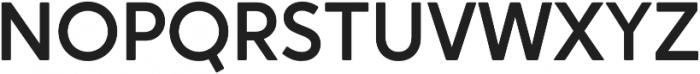 Crossten Medium otf (500) Font UPPERCASE