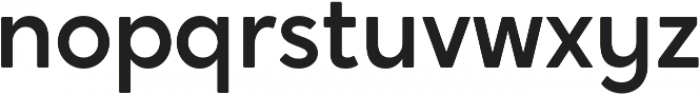 Crossten Medium otf (500) Font LOWERCASE