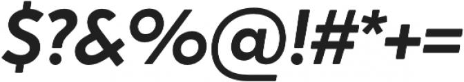 Crossten SemiBold Italic otf (600) Font OTHER CHARS