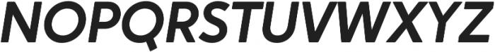 Crossten SemiBold Italic otf (600) Font UPPERCASE
