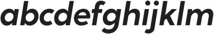 Crossten SemiBold Italic otf (600) Font LOWERCASE