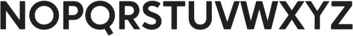 Crossten SemiBold otf (600) Font UPPERCASE