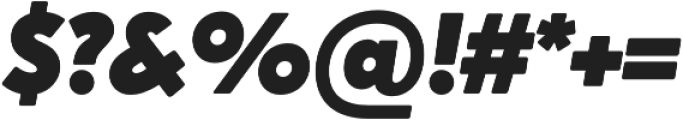 Crossten Ultra Italic otf (900) Font OTHER CHARS