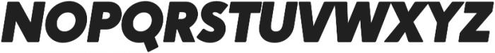 Crossten Ultra Italic otf (900) Font UPPERCASE