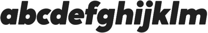 Crossten Ultra Italic otf (900) Font LOWERCASE