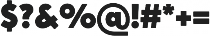 Crossten Ultra otf (900) Font OTHER CHARS
