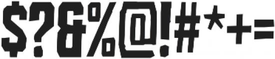 Croteau Regular otf (400) Font OTHER CHARS