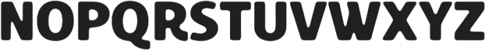 Croust Sans-Ink otf (400) Font UPPERCASE
