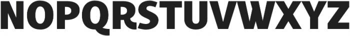 Croust Sans-Regular otf (400) Font UPPERCASE