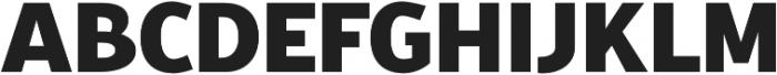 Croust Sans-Regular otf (400) Font LOWERCASE