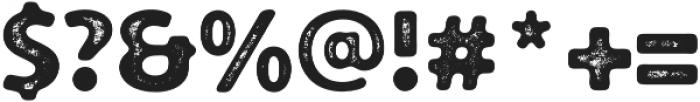 Croust Sans-Texture otf (400) Font OTHER CHARS