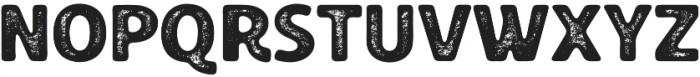 Croust Sans-Texture otf (400) Font UPPERCASE