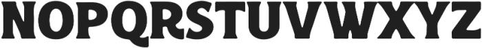 Croust Serif-Ink otf (400) Font UPPERCASE