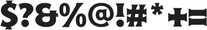 Croust Serif-Regular otf (400) Font OTHER CHARS