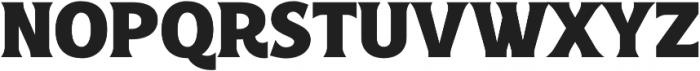 Croust Serif-Regular otf (400) Font UPPERCASE