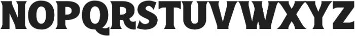 Croust Serif-Regular otf (400) Font LOWERCASE